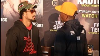 NEXT WORLD MIDDLEWEIGHT CHAMPION! - DEMETRIUS ANDRADE v WALTER KAUTONDOKWA HEAD TO HEAD @ PRESSER