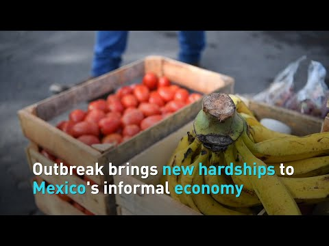 Coronavirus brings new hardships to Mexico's informal economy