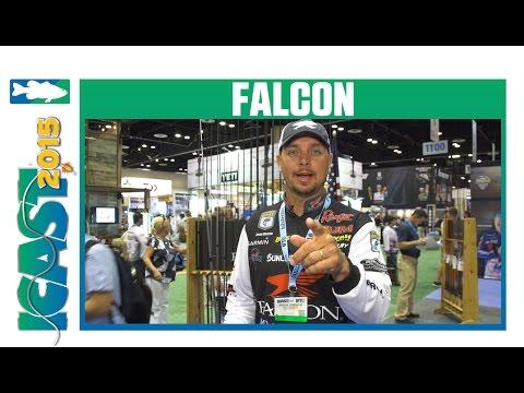 Falcon Signature Series Jason Christie Rods With Elite Series Pro Jason Christie   ICAST 2015