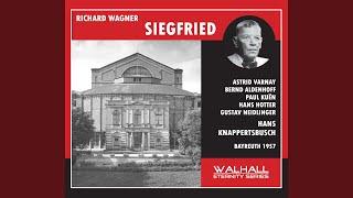 Siegfried: Act II: Zur Kunde taugt kein Toter (Siegfried)