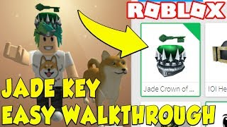 ROBLOX HOW TO GET THE JADE KEY LOCATION WALKTHROUGH! (EASY) Roblox Player One Event