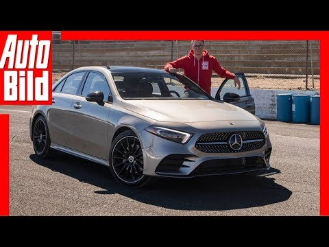 Mercedes A-Klasse Limousine (2018) Fahrbericht / Review / Erklärung