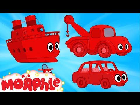My Magic Boat,  My Magic Tow Truck & My Magic Car -- My Magic Pet Morphle Cartoons for Kids