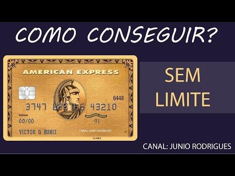 DUVIDAS CARTÃO AMERICAN EXPRESS GOLD CARD SEM LIMITE.