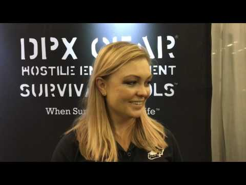 Blade Show 2017:  Interview with Lisa Pelton from DPx Gear