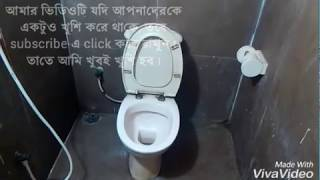 How to use English toilet..!