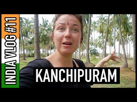 LOCAL INDIAN SHOWS ME THE BEST DAY IN KANCHIPURAM! | India Travel Vlog #11