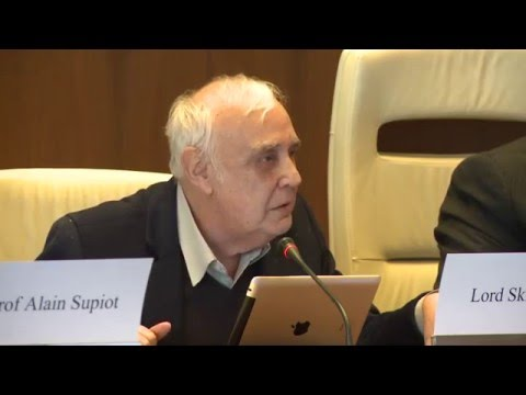Ideas on the future of work: Lord Robert Skidelsky