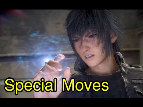 Final Fantasy XV: Special Moves and Weapon Attacks