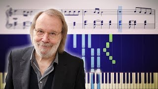 """""""Happy New Year"""" - Breathtaking piano version by ABBA's Benny Andersson four decades later"""