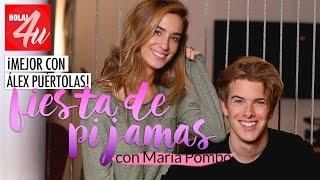 ¿Una fiesta de pijamas? ¡Mejor con Alex Puértolas!   'Lookbook' con María Pombo