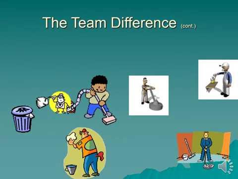 Team cleaning (High school)