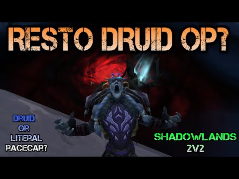 RESTO DRUID IS STRONG!?!? I Shadowlands 2v2 PvP
