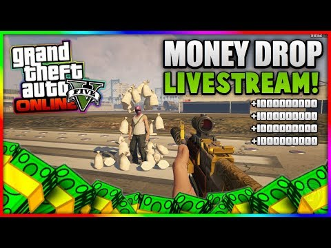 GTA 5 Online - *NEW* MODDED MONEY JOB LIVESTREAM! (Job Link In The Description)