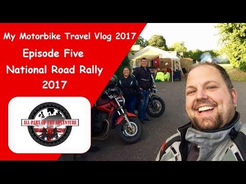 Goodmans Motorbike Travel Vlog, Ep5,  ACU National Road Rally 2017