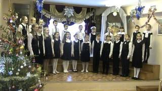 Воскресная школа  Рождественский праздник 2012