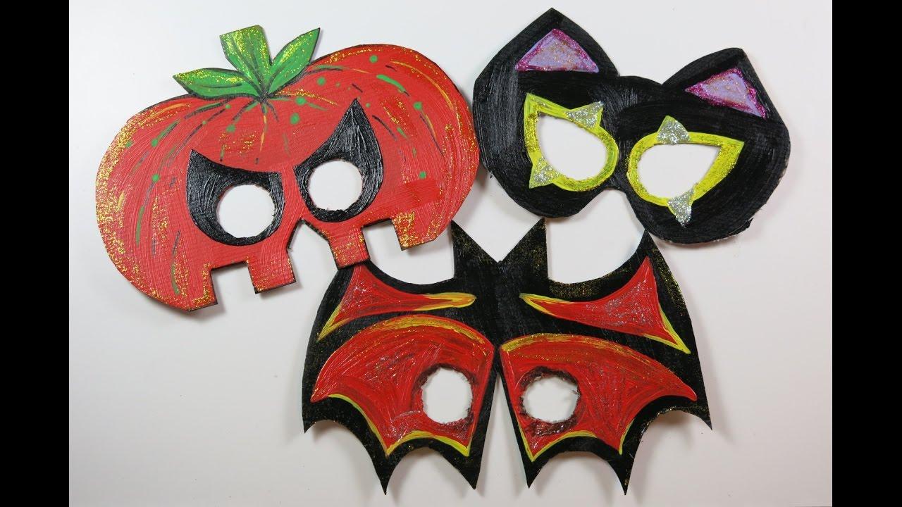 diy cute halloween masks