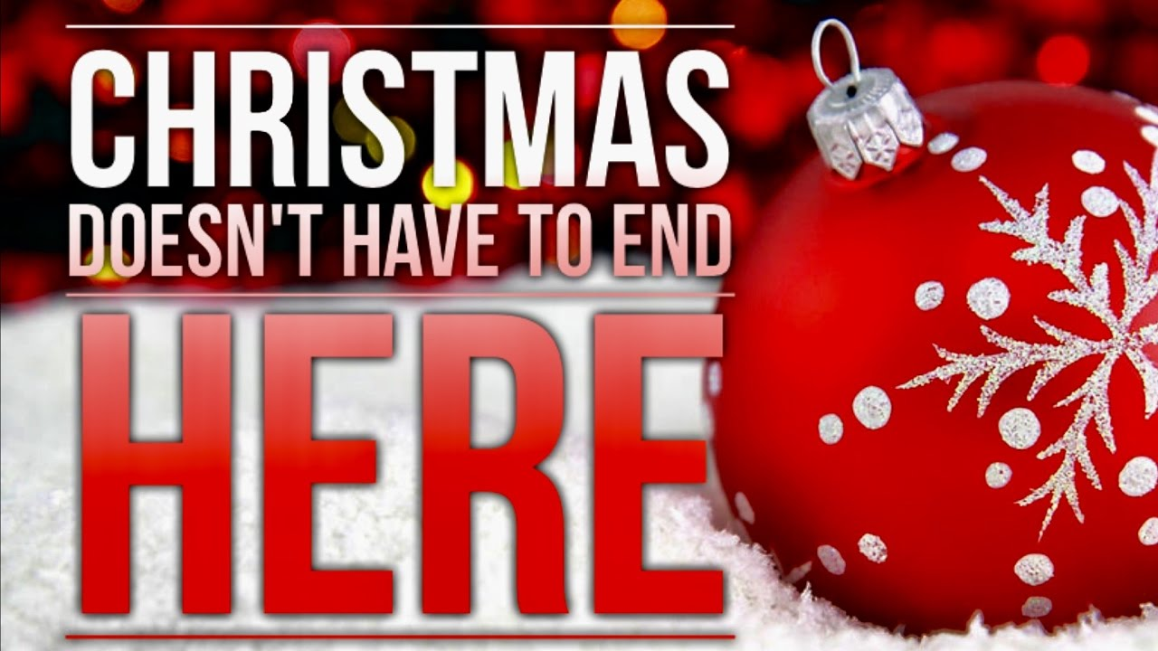 Image result for christmas doesn't end