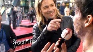 WORLD WAR Z - Brad Pitt Und Marc Forster Treffen Auf Daniele -The Survivor- Rizzo