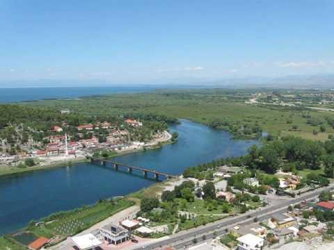 Fantastic View from Rozafa Castle, Shkodra