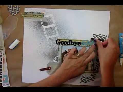 Scrapbook Process Video: Goodbye CMS