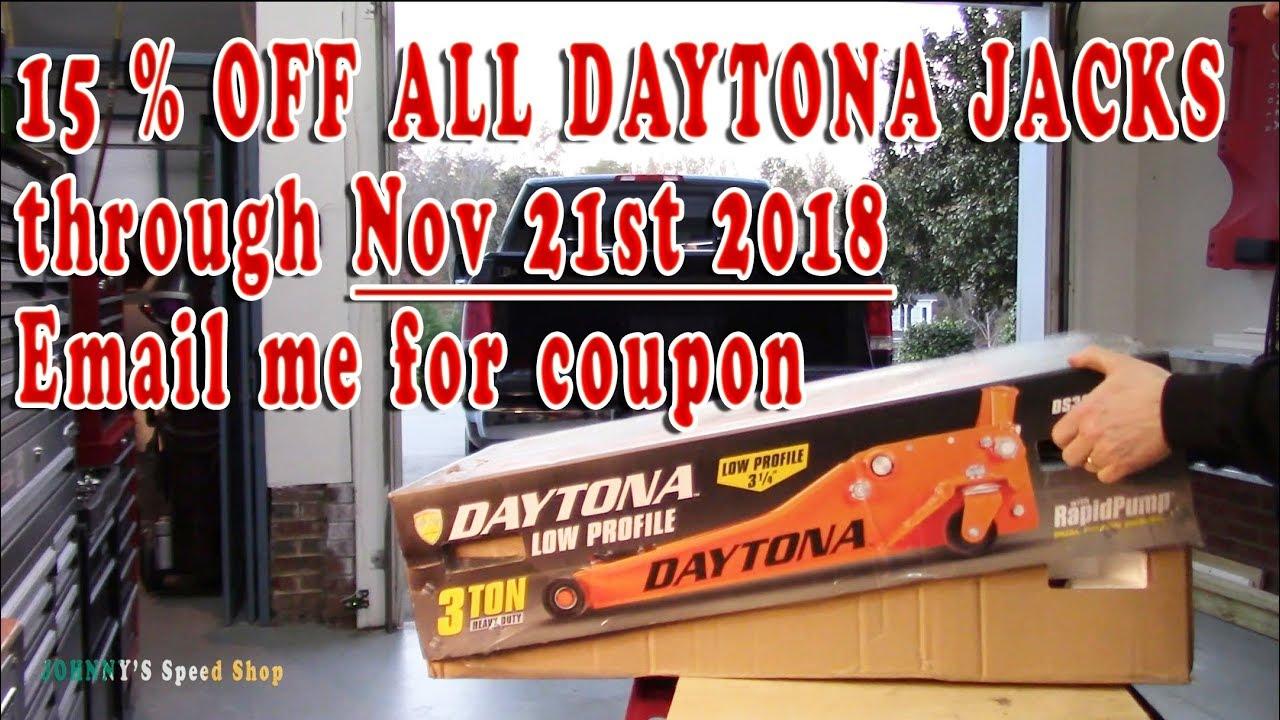 47733fe7ee7 Unboxing   setting up Daytona 3 Ton Floor Jack DS300LP