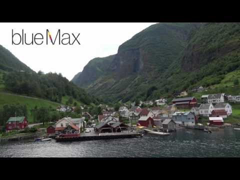 Gudvangen Fjordtell   Sognefjord, Norway, vol  2 4K www.bluemaxbg.com