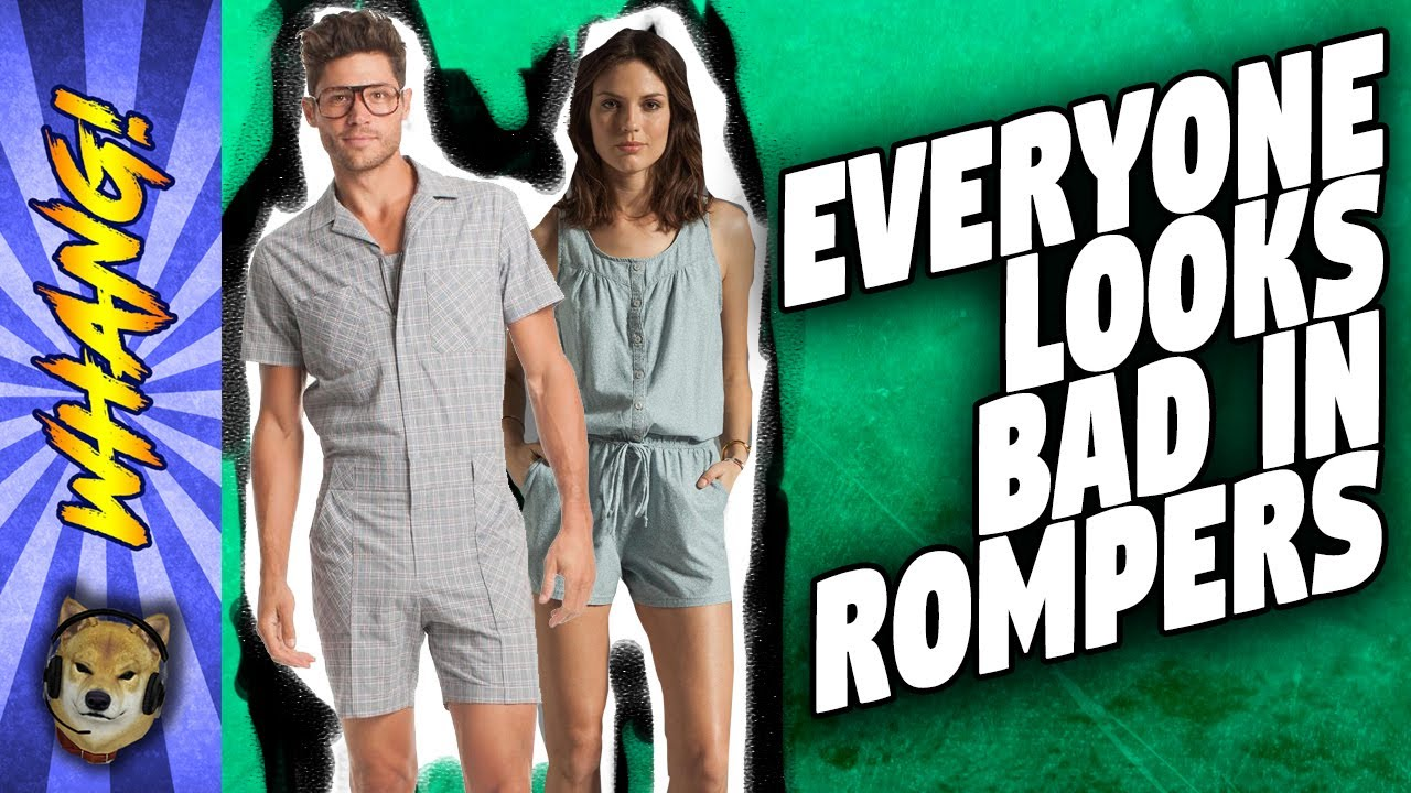ae46580db76e Everyone Looks Bad in Rompers! - Man Romper vs Women s Romper - Clip From Live  Whang!