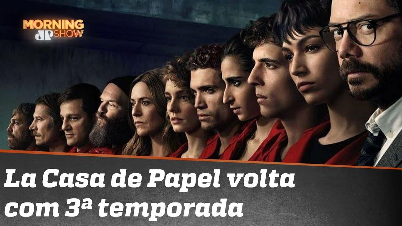 """""""La Casa de Papel"""" voltou"""