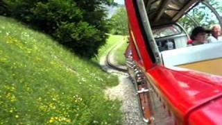 スイスの蒸気機関車 rotholn Brienz Switherland