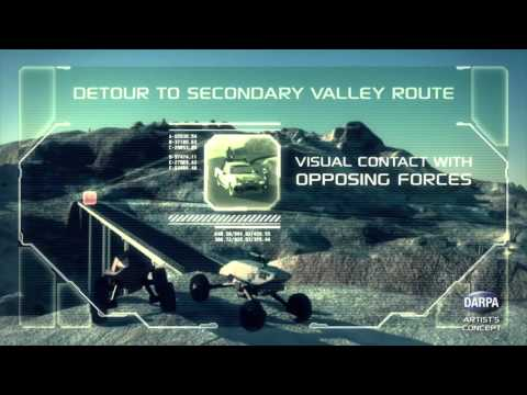 DARPA Ground X-Vehicle Technology (GXV-T) Mobility Video