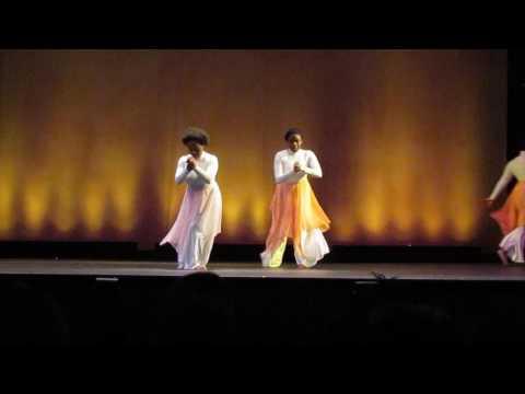 IMAGINE ME KIRK FRANKLIN ST. JOHNS UNIVERSITY SINAI'S RADIANT LITURGICAL DANCE MINISTRY