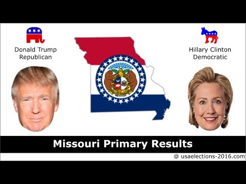 Missouri Primary Result 2016 : US Election 2016
