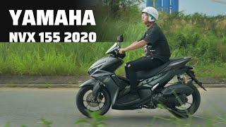 Trên tay: Yamaha NVX 155 2020 | Kết nối Smartphone, giá từ 53 triệu