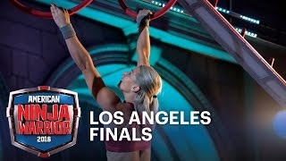 Jessie Graff Takes On The 2016 Los Angeles Finals | American Ninja Warrior