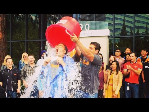 Chegg takes the ALS Ice Bucket Challenge