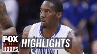 Seton Hall vs Fairleigh-Dickenson | Highlights | FOX COLLEGE HOOPS