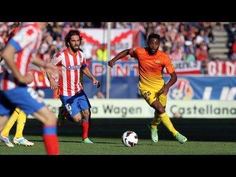 Atletico Madrid vs Barcelona 1-2 | Full Match 12-05-13 HD