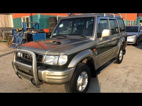 2000 HYUNDAI GALLOPER YU405377 (FOB $2,400 USD)-M/T+DIESEL+4WD+TURBO INTERCOOLER