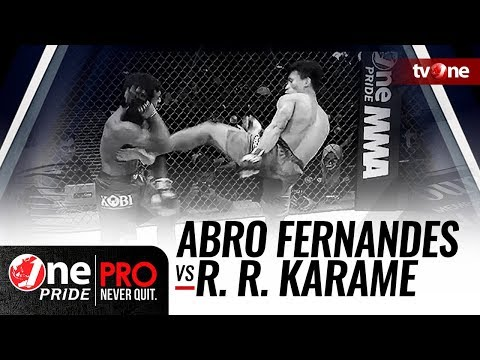 [HD] Abro Fernandes vs Rully Ramli Karame - One Pride MMA - Bantamweight Title Fight