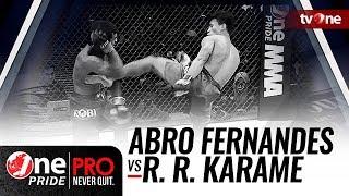 [HD] Abro Fernandes vs Rully Ramli Karame - One Pride MMA - Bantamweight Title Fight