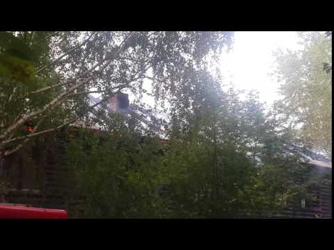 Кировград Сакко и Ванцетти 25 Пожар (начало)