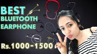 Top 3 Sports Bluetooth Earphones Under Rs.1500 - WeCool WCZ10 | WeCool S30 | Freesolo 56S-2