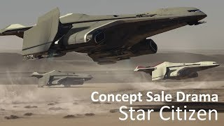 Star Citizen | Concept Sale Drama & The War on Warbonds