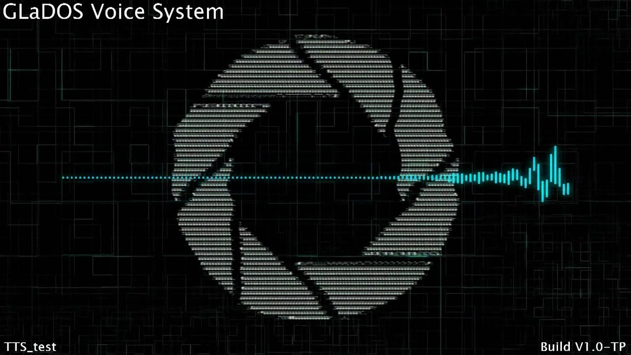 glados text to speach