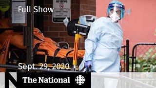 CBC News: The National | COVID-19 resurgence in nursing homes; Trump, Biden debate | Sept. 29, 2020