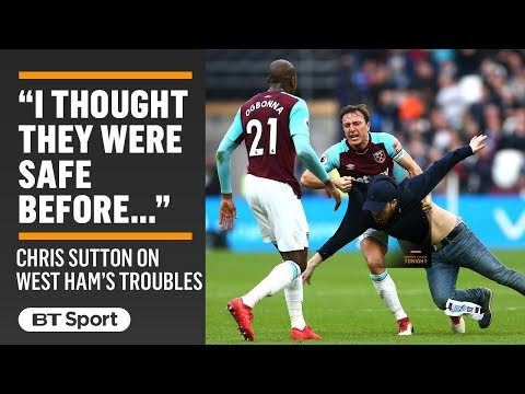 """They are in big trouble now!"" Chris Sutton fears for West Ham after chaos at the London Stadium"
