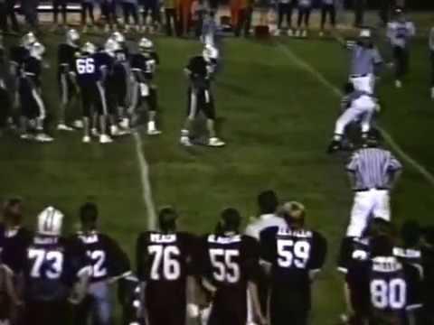 Zeigler Royalton at Sesser Valier High School Football 1989