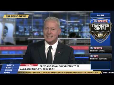 Breaking News! Cristiano Ronaldo Transfer To Barcelona For