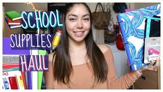 Back to School Supplies Haul 2016! + Giveaway!